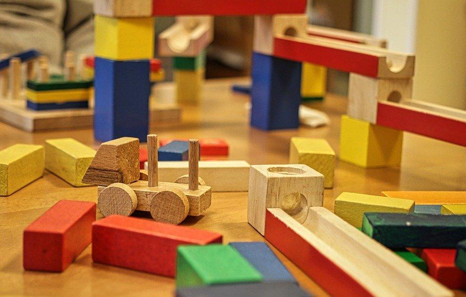 Blocs De Construction, Module, Chambre D'Enfant, Jouets