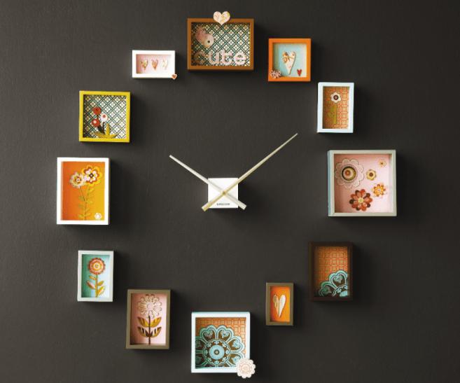 Comment concevoir une horloge murale ?