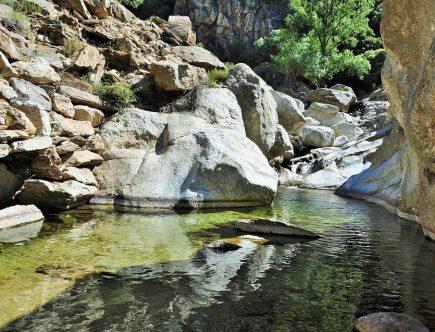 La randonnée aquatique, une initiation au canyoning
