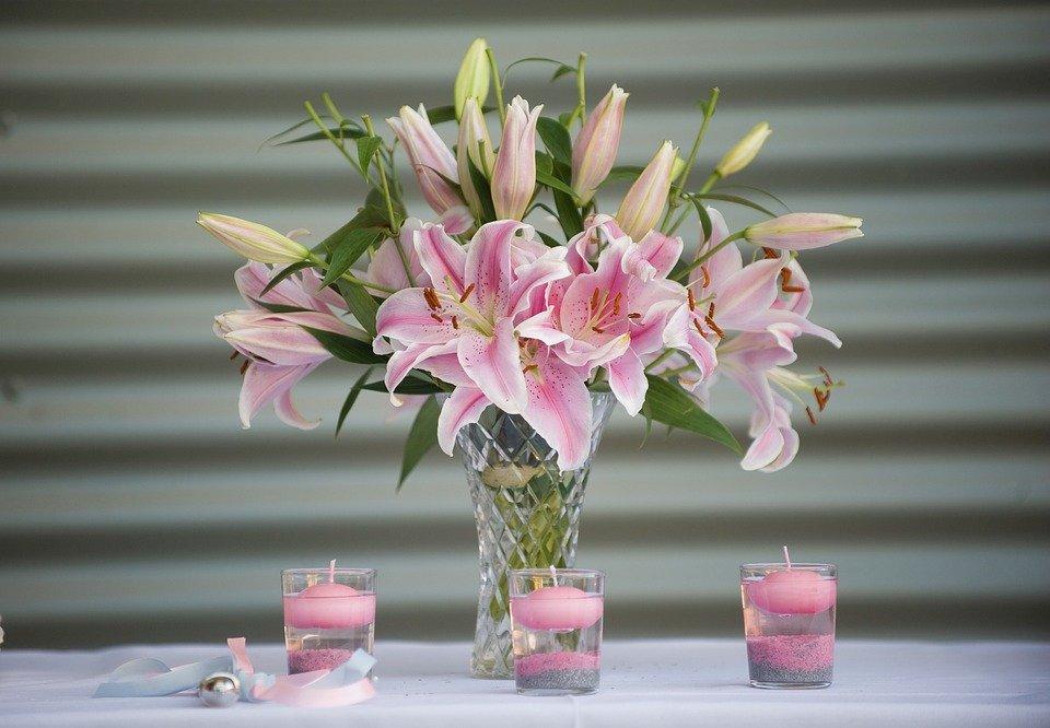 Lillies, Lily, Fleurs, Floraux, Fleurs De Mariage