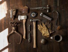 Outils, Bricolage, Faites-Le Vous-Même, Marteau