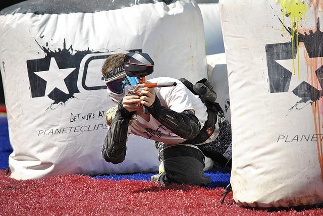 paintball, sports, extrême