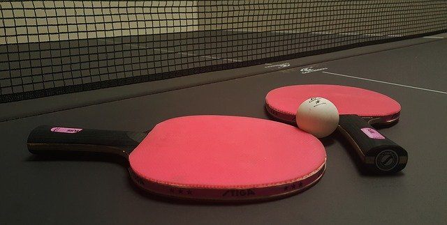 ping-pong, tennis de table, pagaies